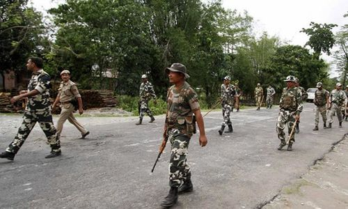 Eight troopers dead in rebel attack in northeast India