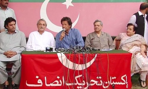 PTI's struggle bearing fruit, says Imran Khan