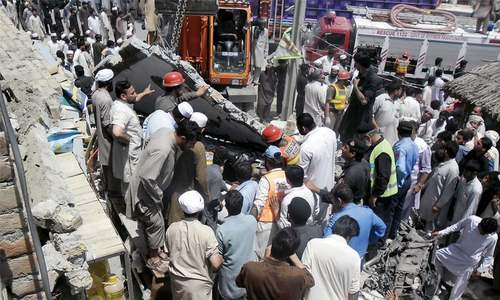 Nine killed in Peshawar, Kohat road accidents
