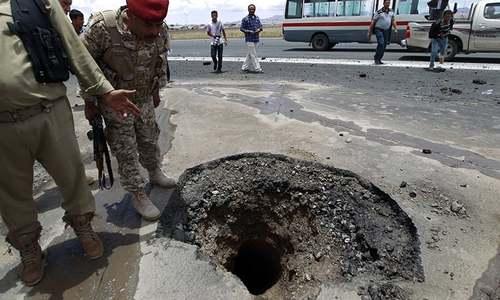 Yemen rebels shell Saudi town, prompting warning