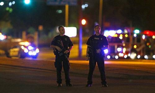 Gunman's hashtag hinted at Texas plot
