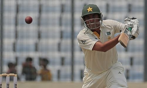 Younus, Azhar centuries put Pakistan in control