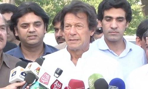 NADRA pre-scan report on NA-122 shows glaring irregularities: Imran Khan