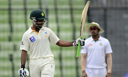 Pakistan batsmen in command, reach 428-4 vs. Bangladesh