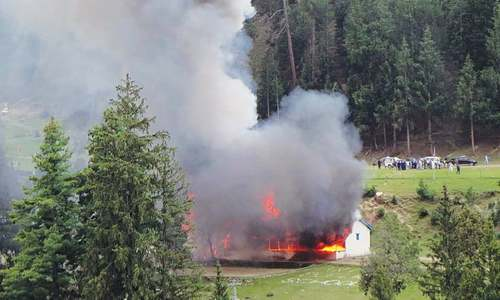 Army copter crashes in Naltar; 7 die
