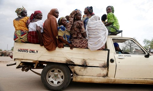 Uneasy return for IDPs in Nigeria