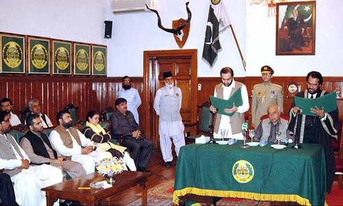 Qudoos Bizenjo sworn in as acting governor