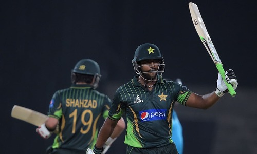Pakistan seal comfortable victory in first T20 against Zimbabwe