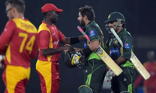Pakistan seal victory in first T20 against Zimbabwe