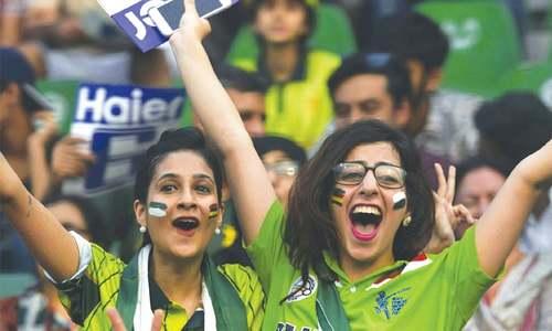 Pakistan celebrate return of international cricket