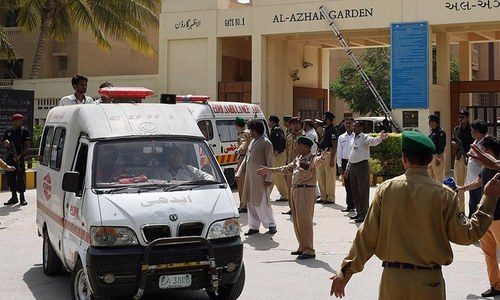 Another suspect of Karachi attack arrested