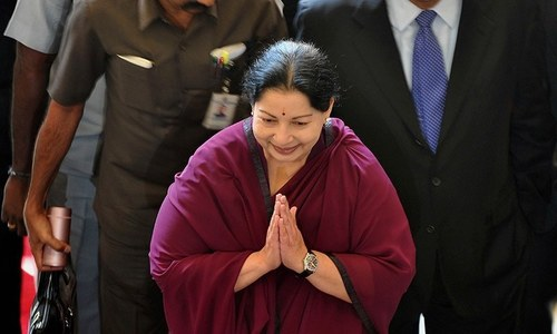 India's Jayalalithaa returns as chief minister of Tamil Nadu