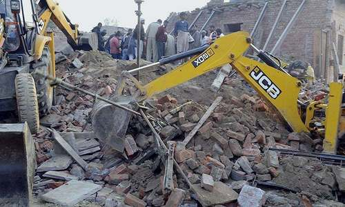 9 children injured in Multan school roof collapse