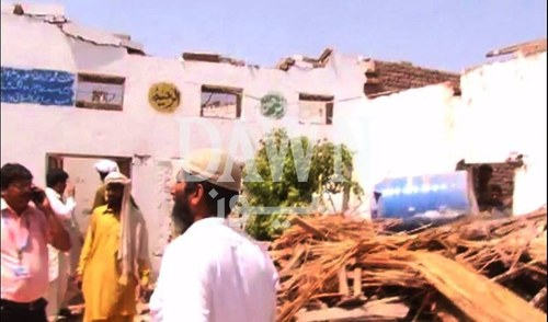 9 children, 2 teachers injured in Multan school roof collapse