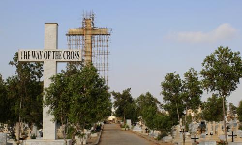 کراچی میں ایشیا کی سب سے بڑی صلیب