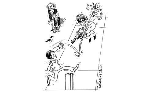 Cartoon: 24 May, 2015