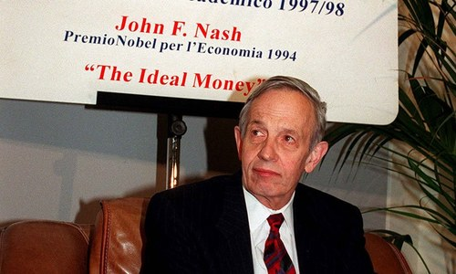 john nash a beautiful mind John nash, the princeton university mathematician whose brilliance and mental health struggles inspired the oscar-winning film a beautiful mind, died in a car crash in new jersey on saturday he .