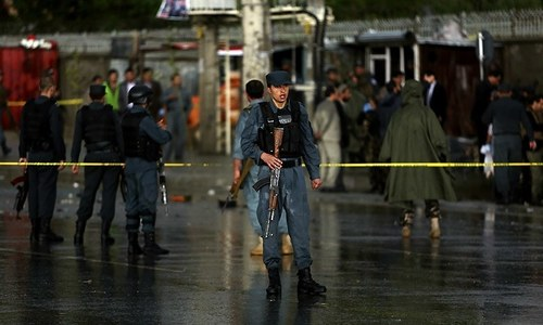 Suicide bombing kills 5 in Afghanistan: Official