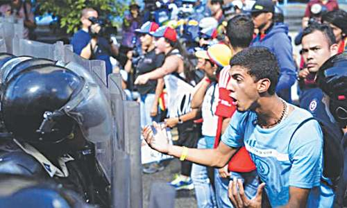 A drug cartel's power in Venezuela