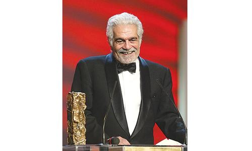 Film legend Omar Sharif suffers from Alzheimer's disease
