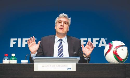 Europeans lead outcry over latest FIFA scandal