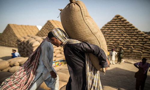 85,000 tons of wheat for displaced people approved
