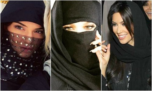 Khloe Kardashian rocks a burqa. Should we care?