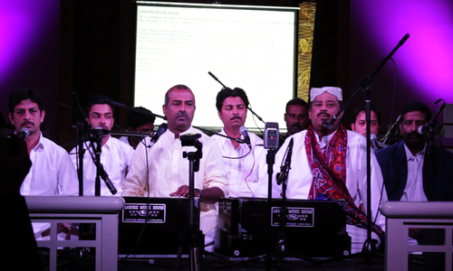 A night of Qawwali in a Synagogue