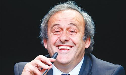 Platini says Blatter must go for 'good of FIFA'