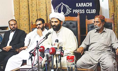 Shia leaders call for enforcement of 22-point accord reached after Shikarpur tragedy