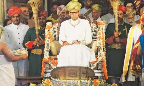 23-year-old crowned maharaja of Indian royal dynasty