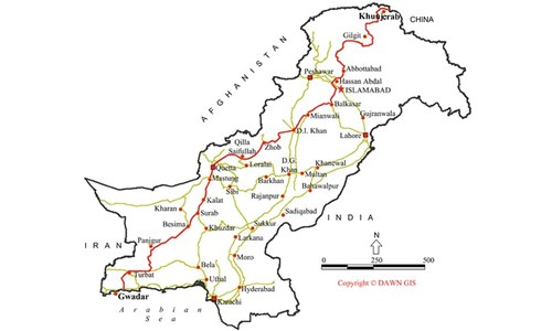 Parties give go-ahead to China-Pak corridor