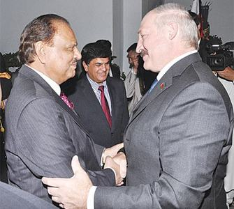 Pakistan, Belarus vow to build broad-based ties in all fields