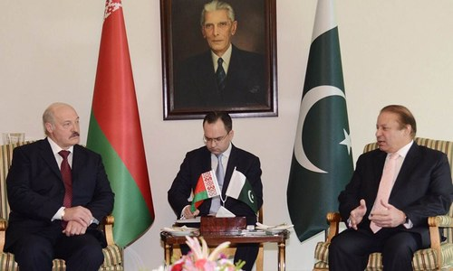 Pakistan keen to forge closer ties with Belarus: PM Nawaz