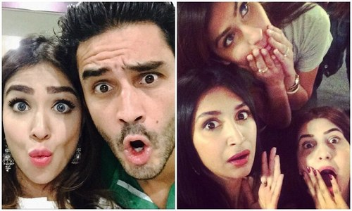 Who loves Dubsmash? Humaima Malick and Mehreen Syed certainly do!