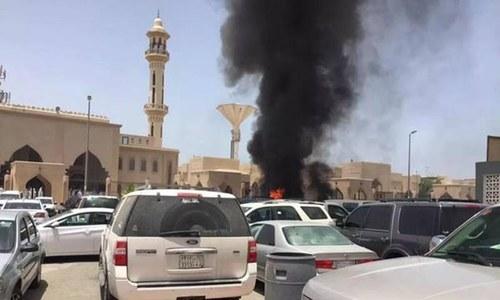 سعودی عرب: مسجد کے باہر خودکش دھماکا، 4 ہلاک