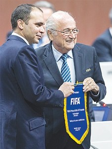 Blatter wins 5th FIFA term as Prince Ali concedes