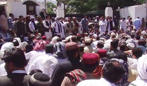 Relatives of Mastung victims stage sit-in as death toll rises to 22