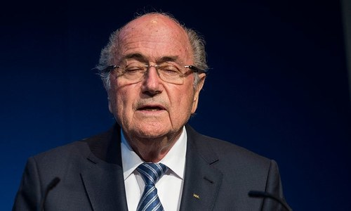 Sepp Blatter resigns as FIFA president
