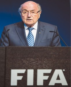 Blatter quits as FIFA chief amid corruption scandal