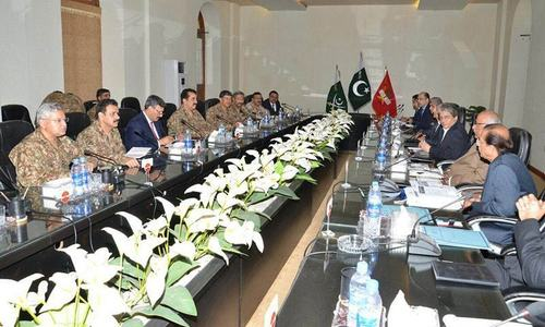 Counterterrorism cell begins work at corps headquarters
