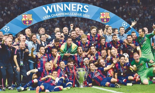 Barca cruise past Juve to win fifth European Cup, second treble