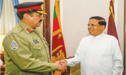 Stronger defence ties pledged with Sri Lanka