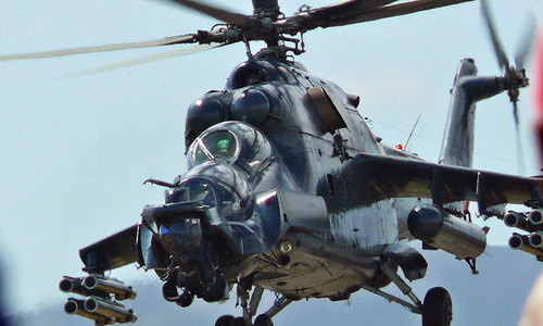 Deal with Russia for purchase of Mi-35 attack helicopters on the cards