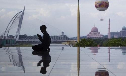 To mark the Holy beginning — Muslims observe Ramazan