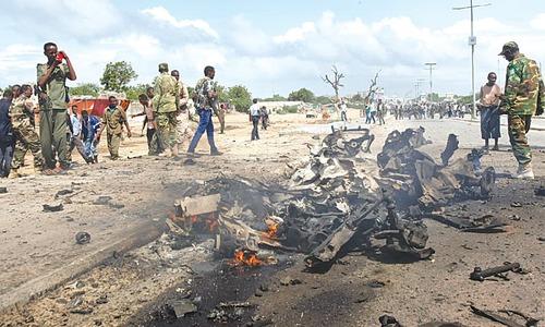 Bomb attack kills nine in Somalia