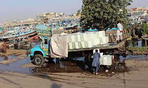 Karachi, an 'urban heat island'