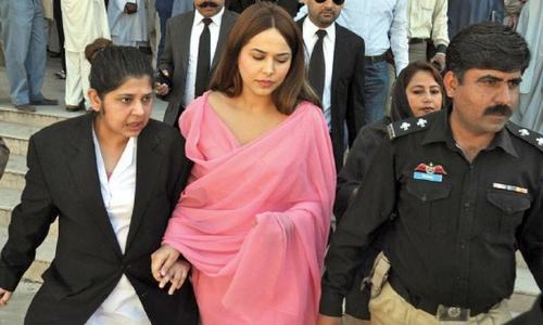 LHC rejects model Ayyan's second bail plea