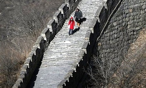دیوار چین غائب ہونے لگی