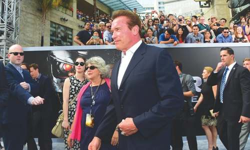 'Old but not obsolete' Schwarzenegger back again as Terminator